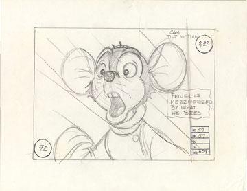 Fievel Storyboard